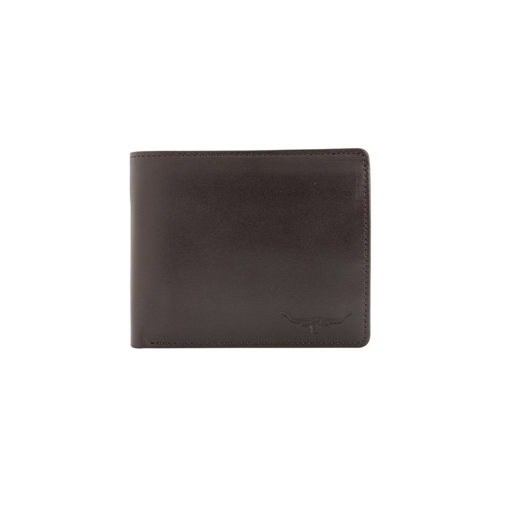 Tri-Fold Wallet Yearling Leather Chestnut