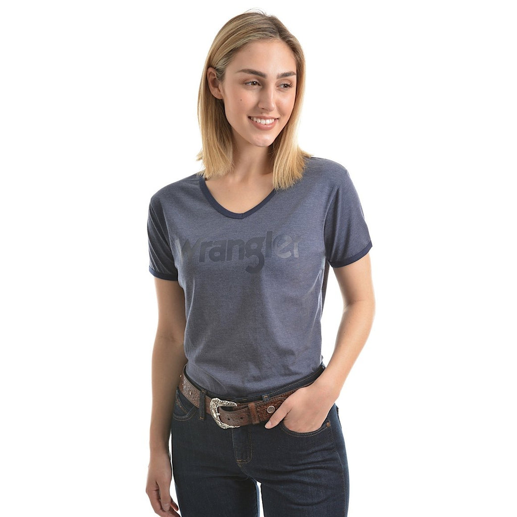 Womens Selina Tee Denim Marle