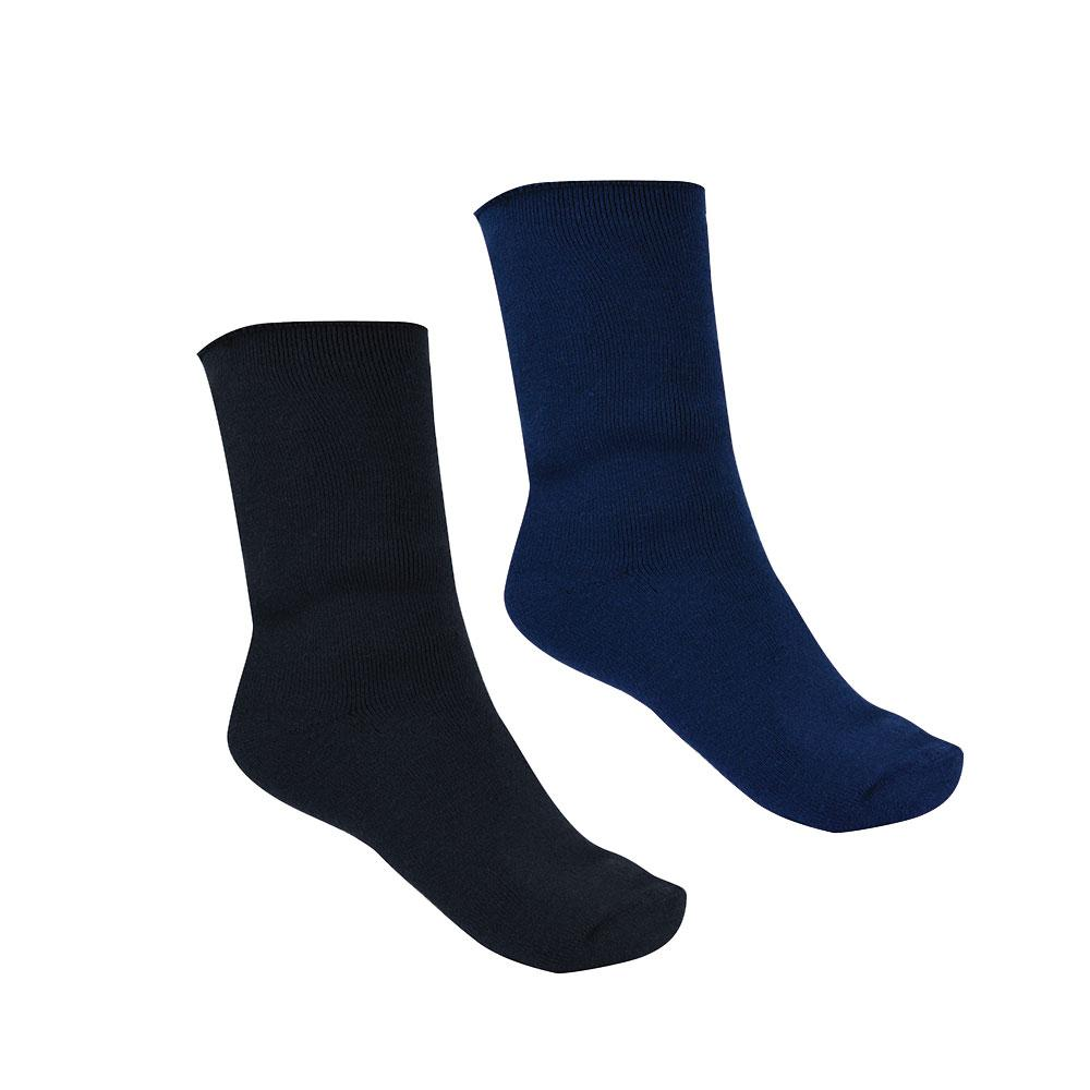 THERMAL SOCKS - TWIN PACK NAVY/BLACK
