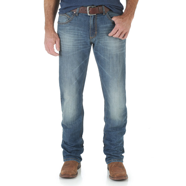 Mens Retro Slim Straight 34Leg Jean Cottonwood