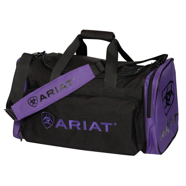 Ariat Junior Gear Bag - Purple/Black