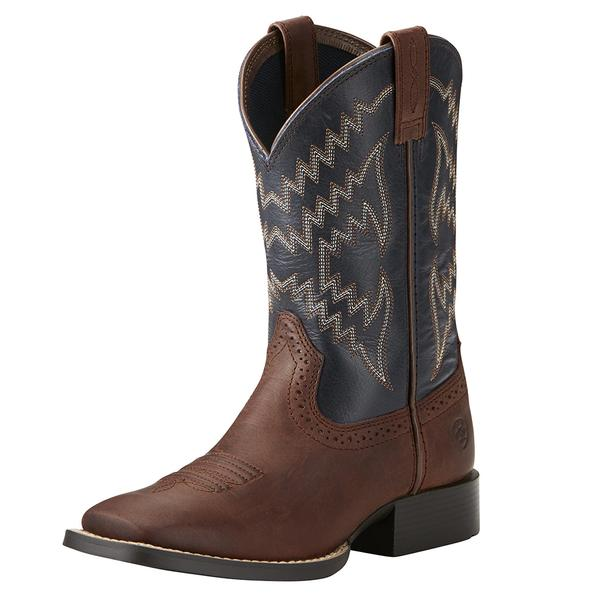 Ariat Kids Tycoon Western Boot - Brazen Brown