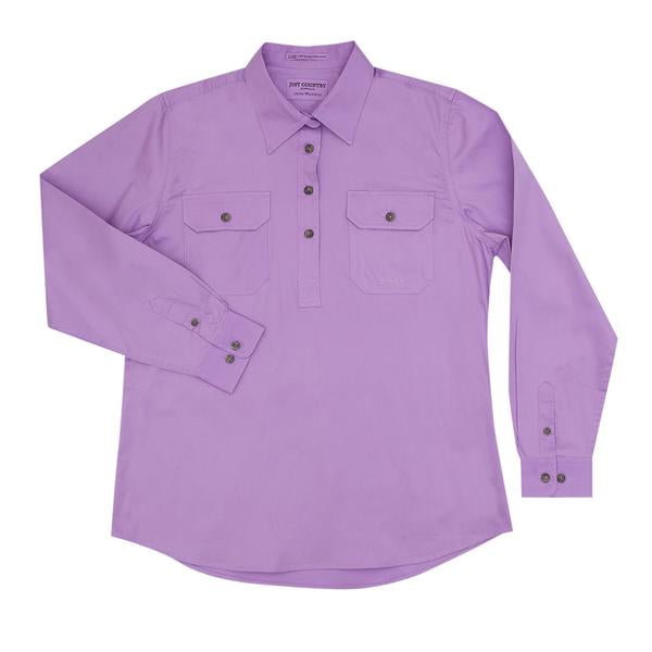 Just Country Women's Jahna Workshirt - Orchid