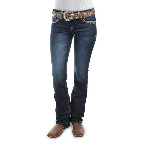 "Pure Western Taylor Boot Cut Jean 34"" Leg - Midnight"
