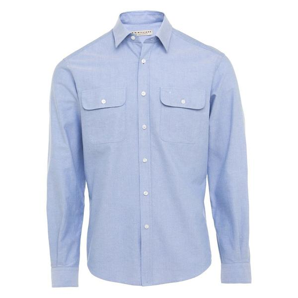 R.M. Williams Bourke Shirt - Light Blue