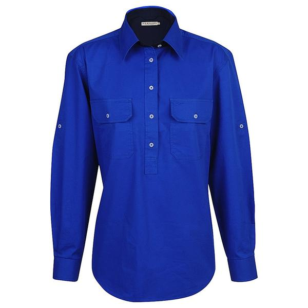 R.M. Williams Brokenhill Shirt - Royal