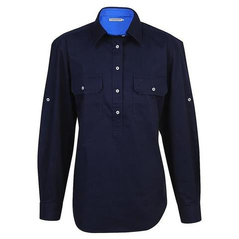 R.M. Williams Brokenhill Shirt - Navy