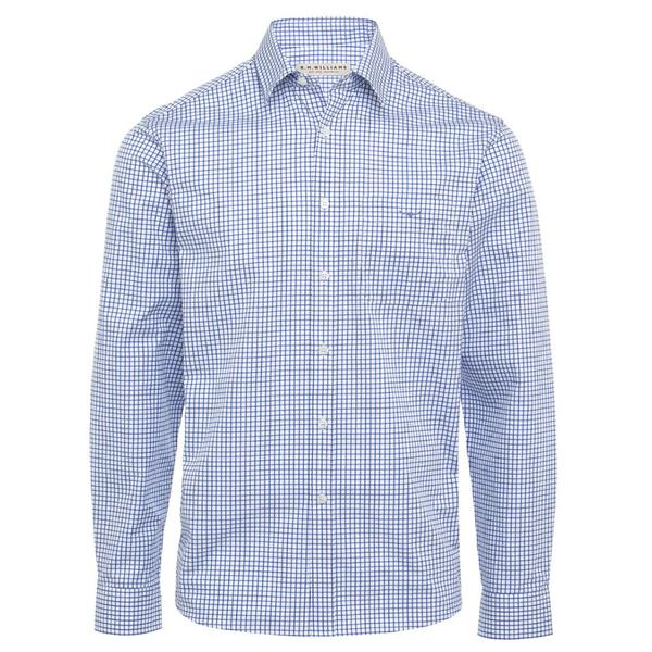 R.M. Williams Collins Shirt - White/Blue