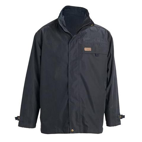 R.M. Williams Men's Rockley Jacket Navy/Ironbark