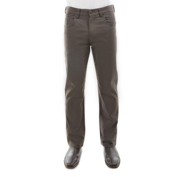 Men's Stretch Moleskin Mid-Reg-Straight 32 Leg - Greystone