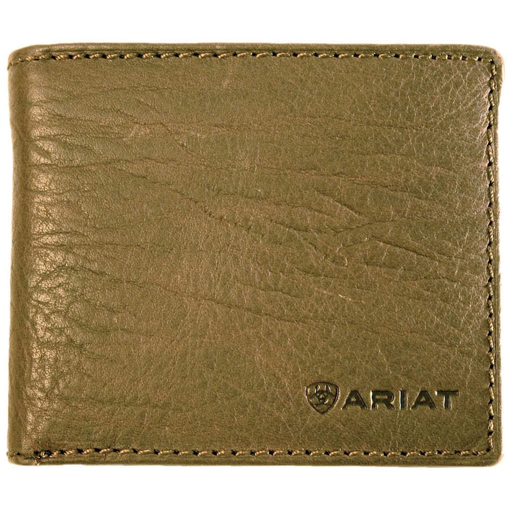 Ariat Men's Bi Fold Wallet - Distressed Leather WLT2107A