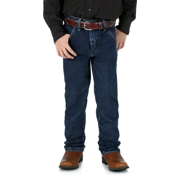 Wrangler Boy's ProRodeo Original Fit Jean (8-16) - Prewashed Indigo
