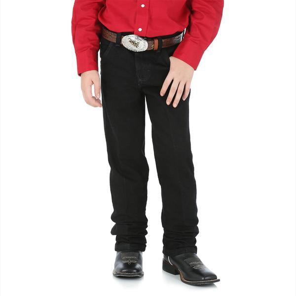 Wrangler Boy's ProRodeo Original Fit Jean (8-16) - Overdyed Black