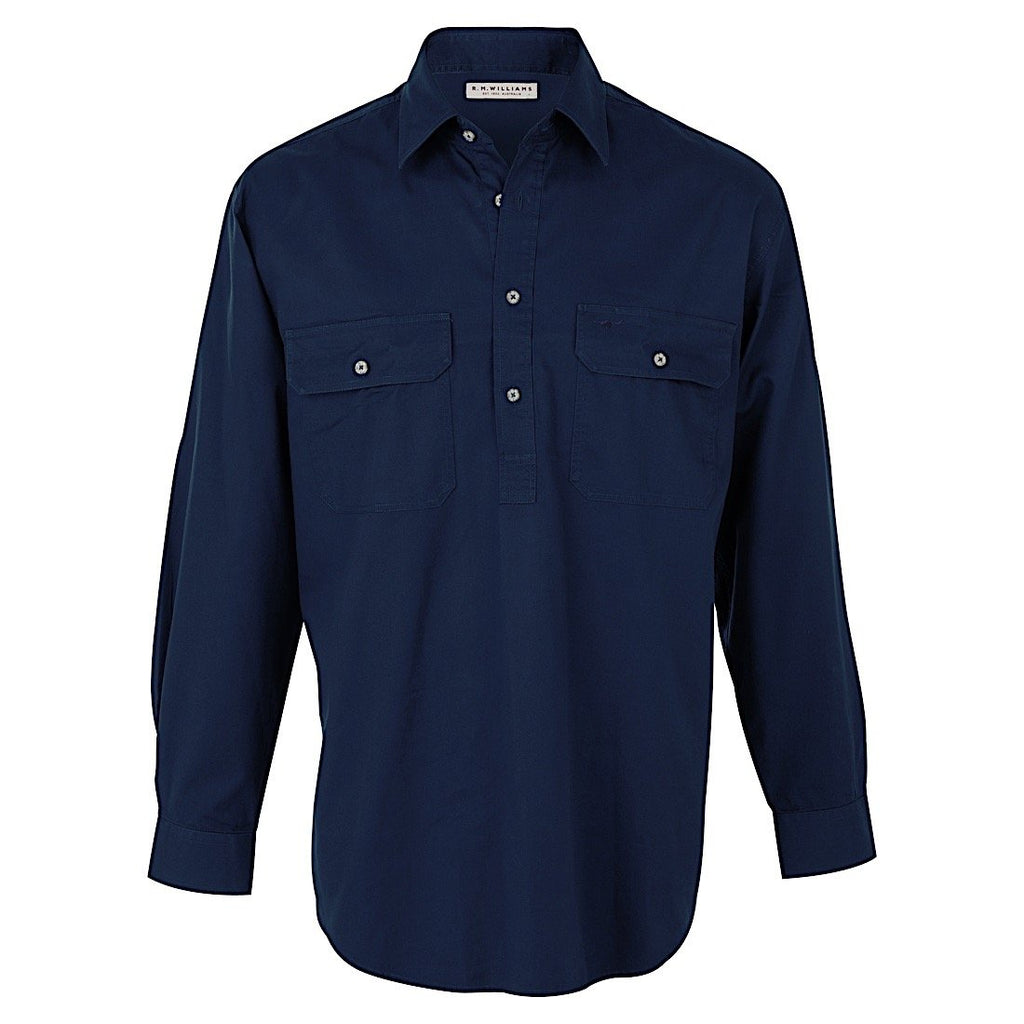 R.M.Williams Angus Shirt - Navy