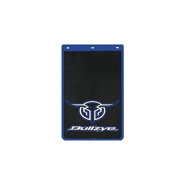 Logo Mud Flap Single Size B Blue (Sold Individually As One Unit - Not 1 Pair)