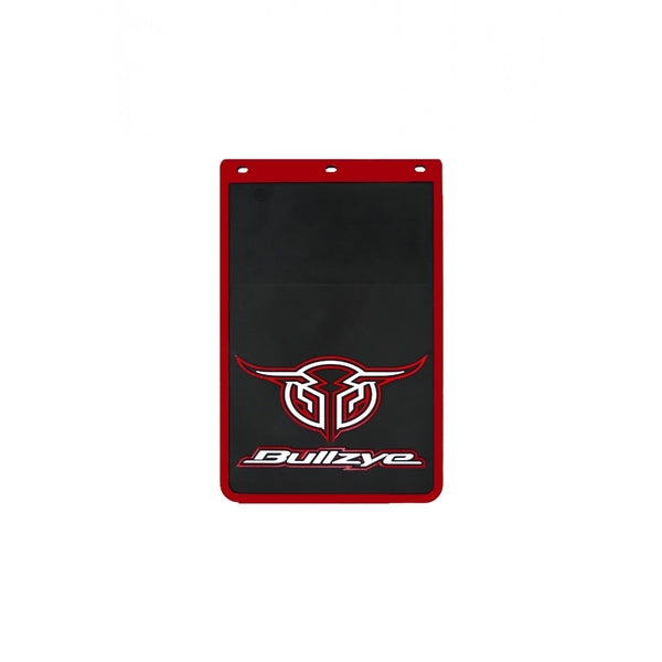Logo Mud Flap Single Size B Red (Sold Individually As One Unit - Not 1 Pair)
