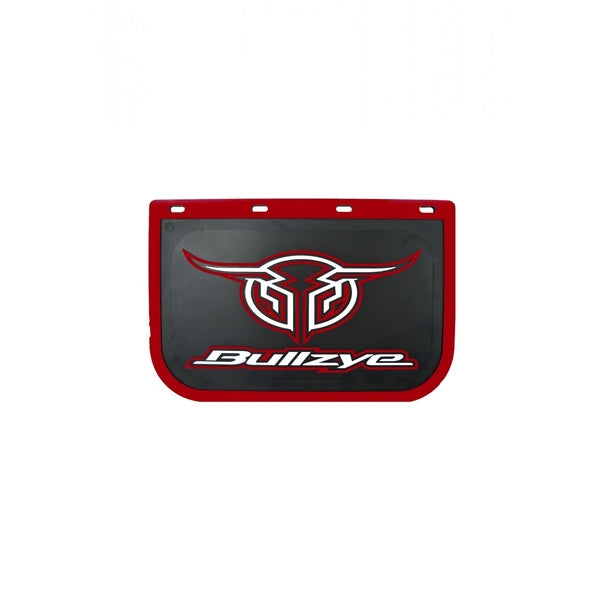 Logo Mud Flap Single Size D Red (Sold Individually As One Unit - Not 1 Pair)