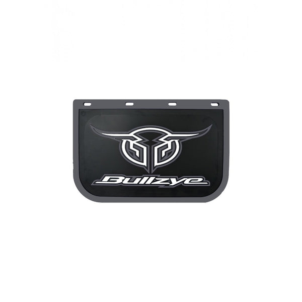 Logo Mud Flap Single Size D Grey (Sold Individually As One Unit - Not 1 Pair)