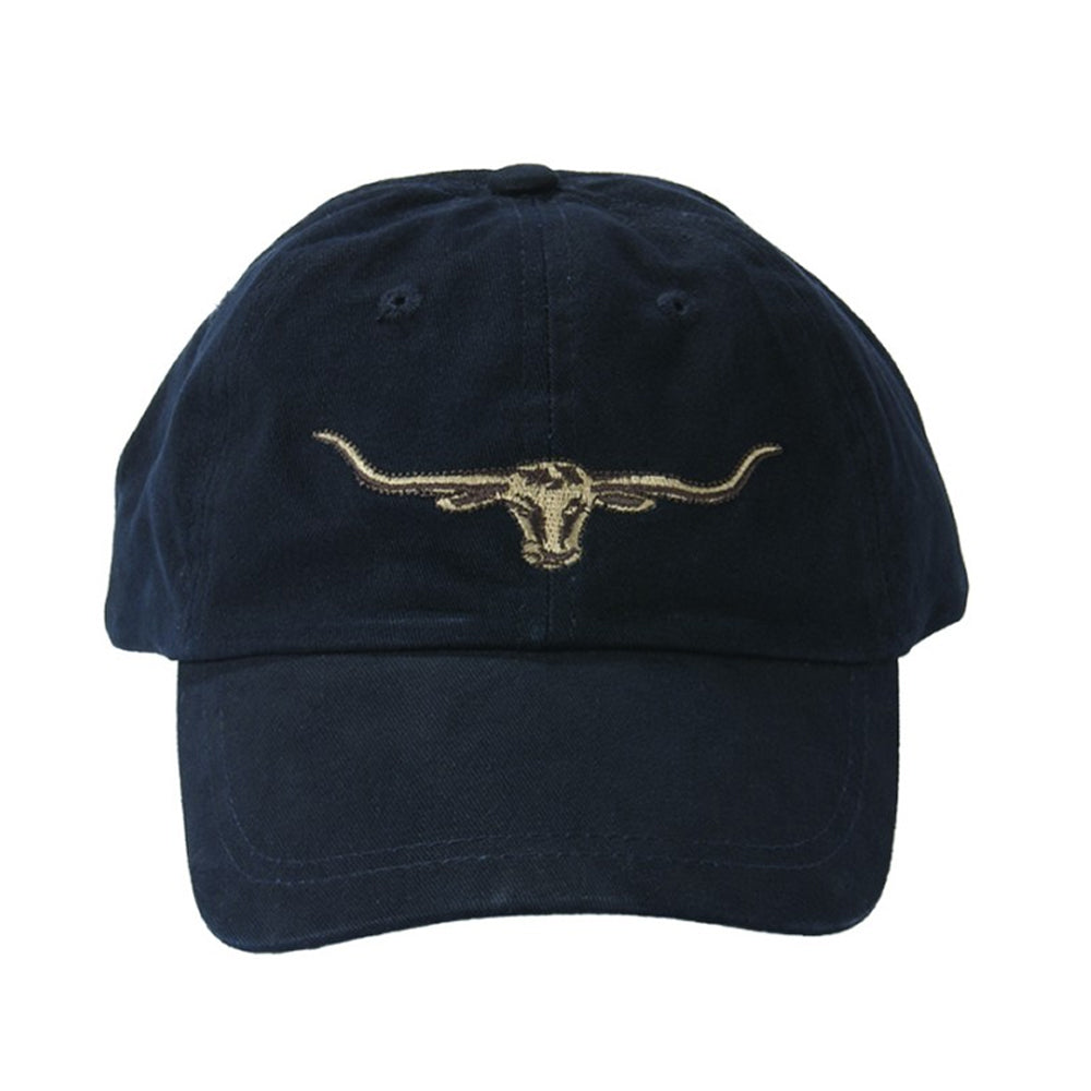STEERS HEAD LOGO CAP - NAVY
