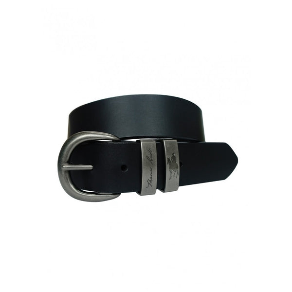 SILVER TWIN KEEPER BELT BLACK S