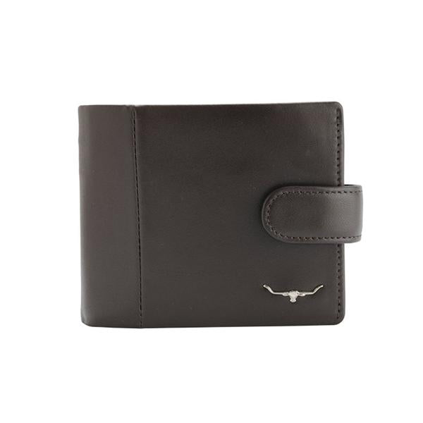 R.M. Williams Mens Wallet with Coin Purse - Brown