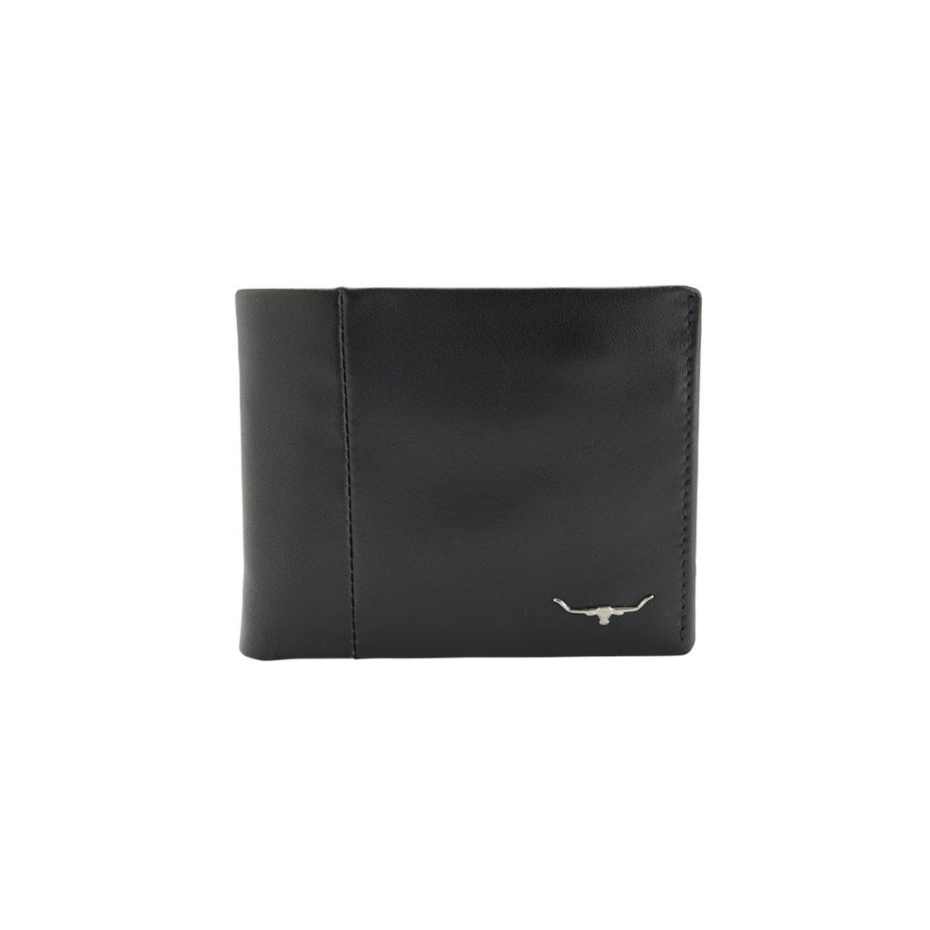 R.M. Williams Men's Wallet with Coin Purse - Black