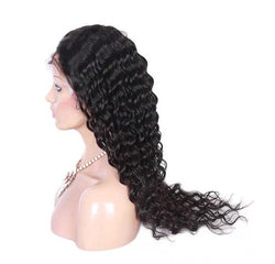 Full Lace Deep Wave Wig Brazilian 150%