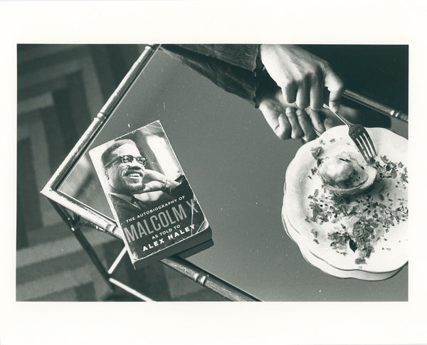 'Breakfast with Malcolm' 8x10 Archival Print