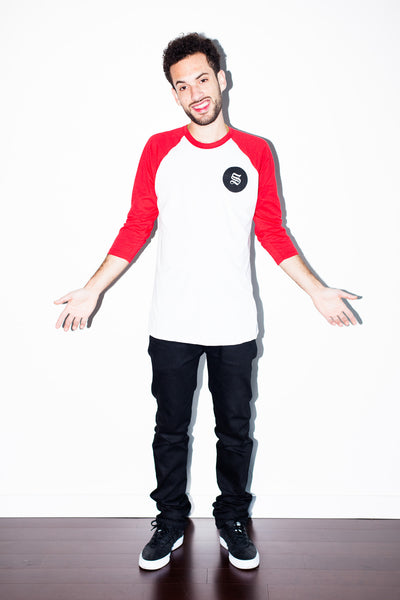 Zilla Baseball Tee (Red)