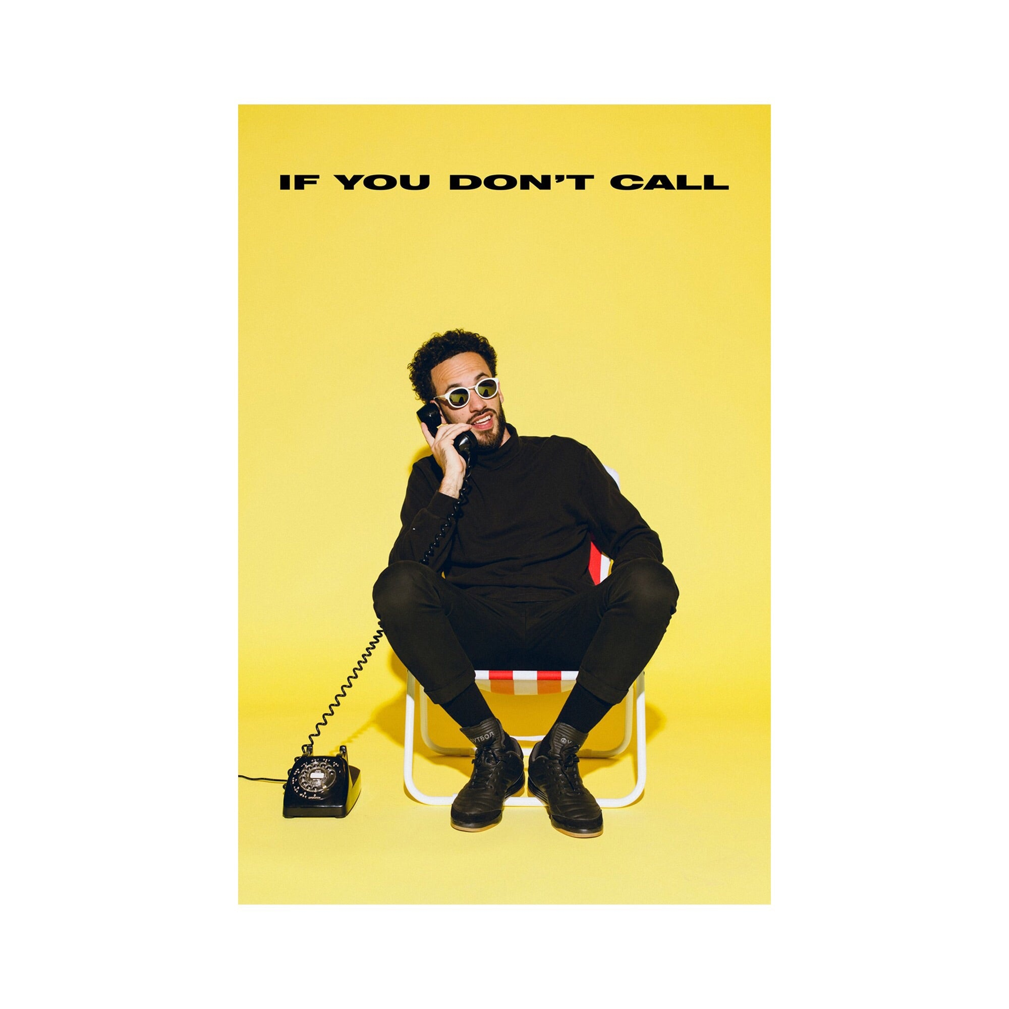 """If You Don't Call"" Poster"
