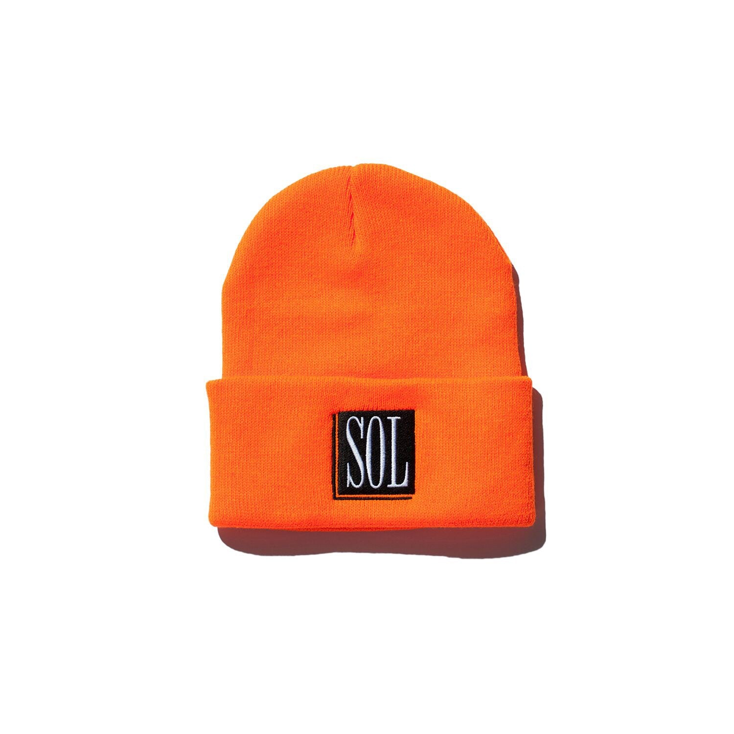 Logo Beanie - Neon Orange