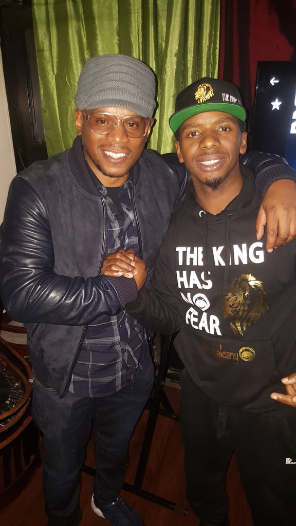 The Legend Sway Calloway has always been a great supporter of Bucaleany.