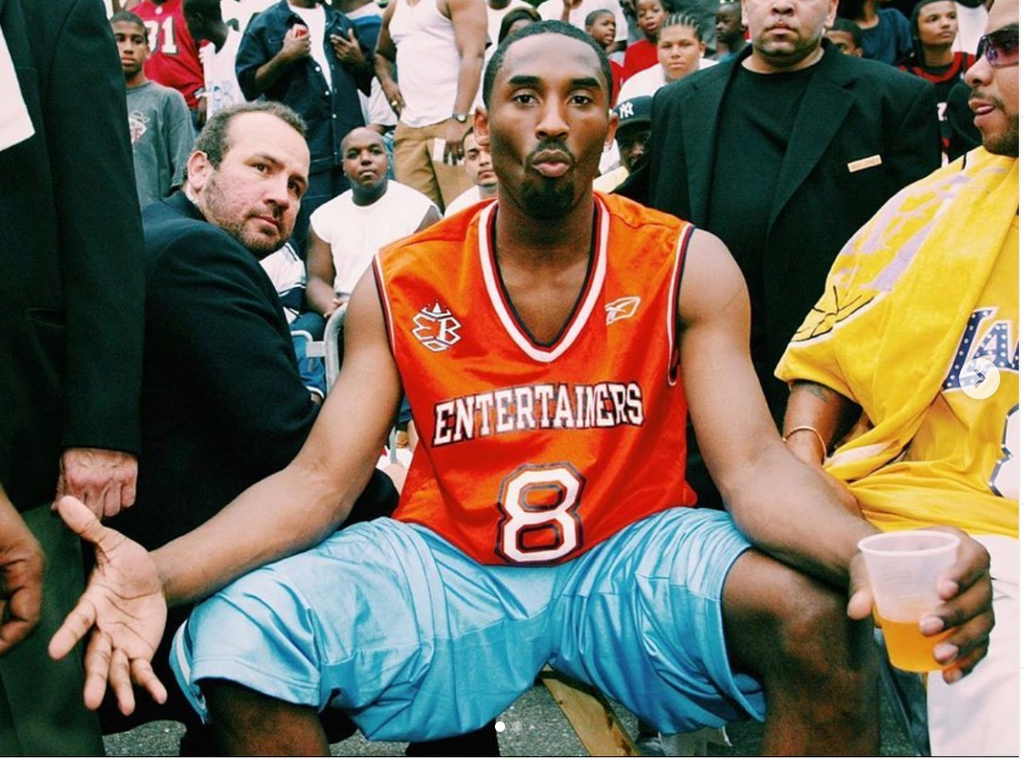 Kobe came to Harlem Rucker Park 2002 after winning 3 rings with the Lakers!