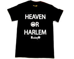 """Heaven Or Harlem"" Bucaleany Tshirt in Black"