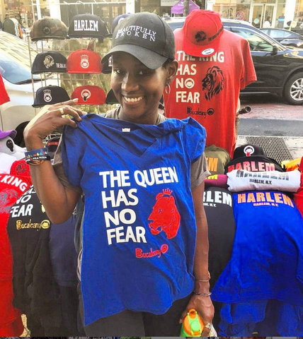 the queen has no fear tee