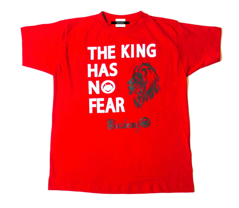 THE KING HAS O FEAR