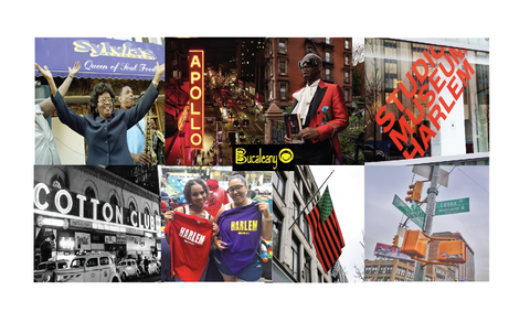 harlem collage