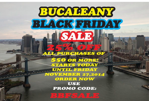 BUCALEANY Black Friday Sale The Holiday Spirit Starts With You!!!