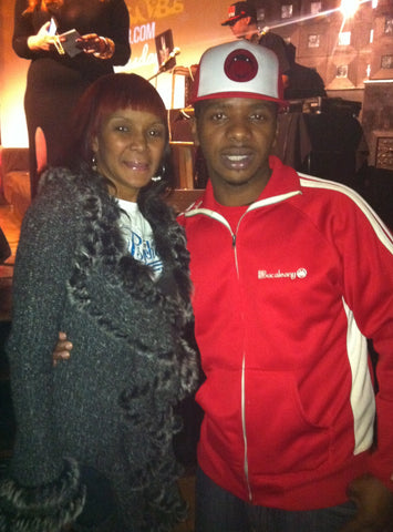 @MamaJones1 & @Bucaleany at SOB's, and words of wisdom