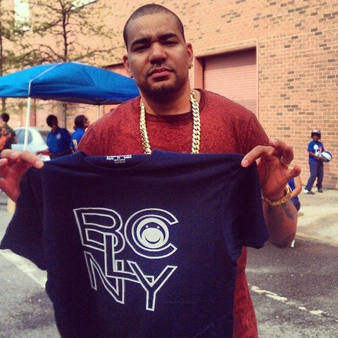 Host of Power 105.1FM The Breakfast club DJ Envy support the Bucaleany movement
