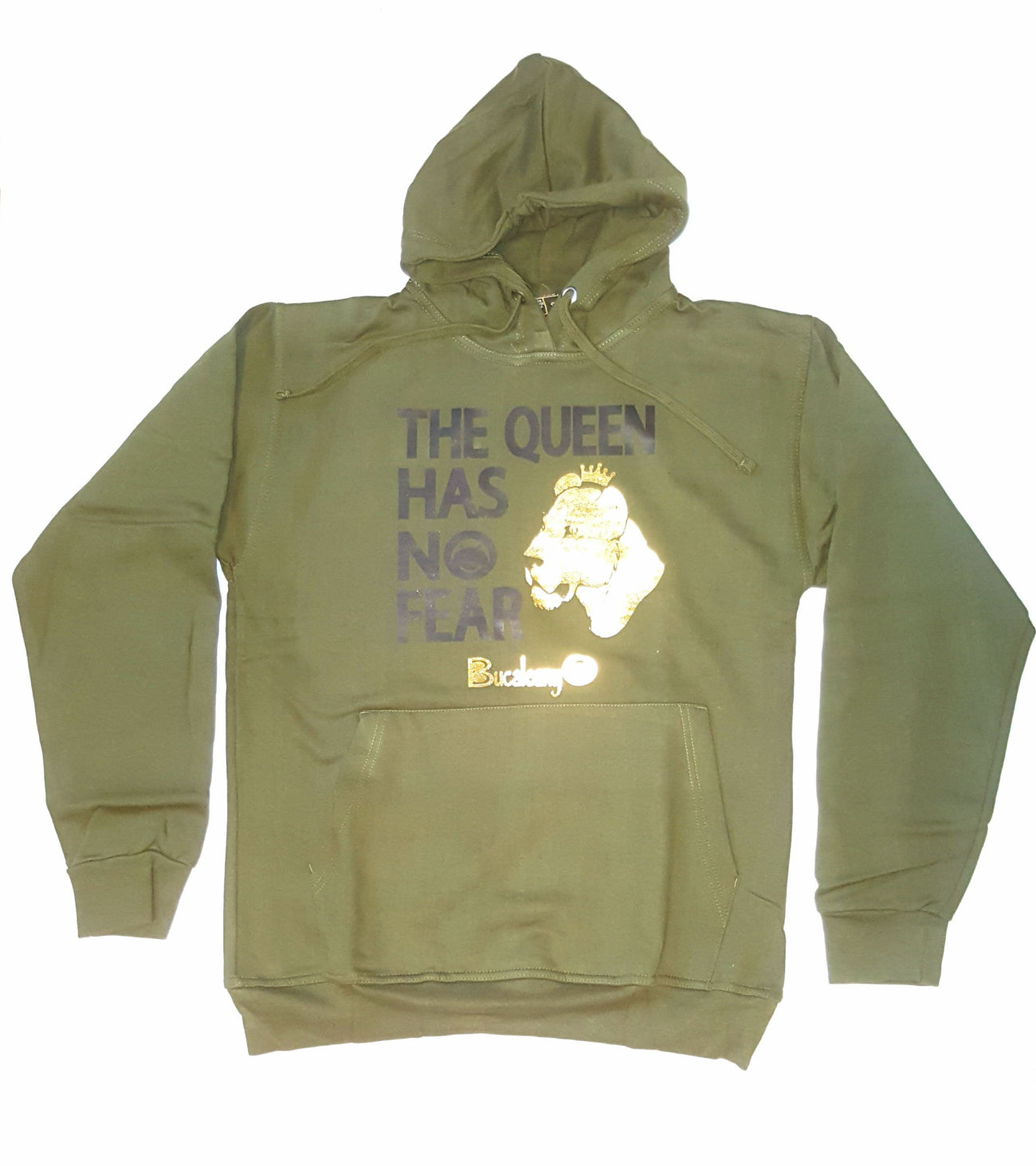 The Queen Has No Fear Hoodie - BUCALEANY