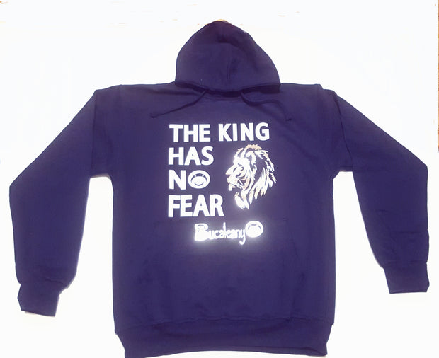 The King Has No Fear Hoodie - BUCALEANY