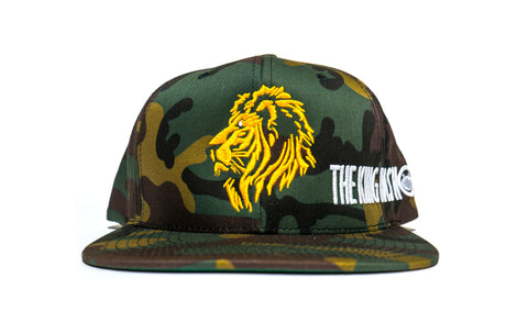 THE KING HAS NO FEAR ARMY - snapback