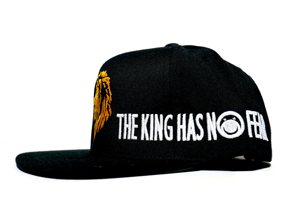 THE KING HAS NO FEAR - snapback - BUCALEANY