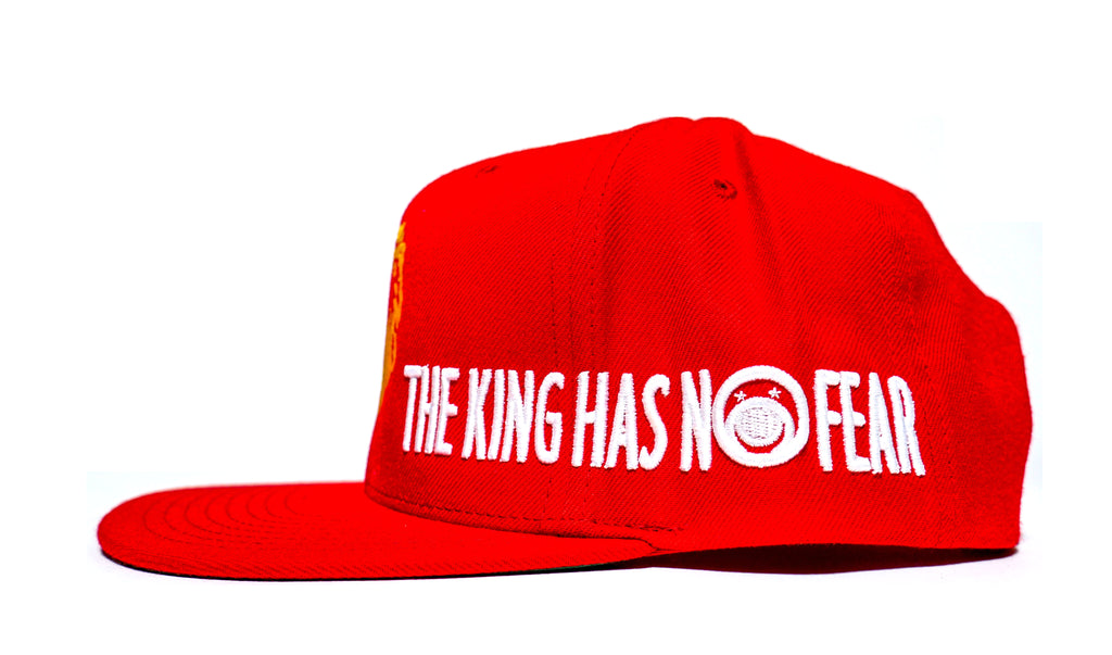 b615dcecb6e THE KING HAS NO FEAR - snapback