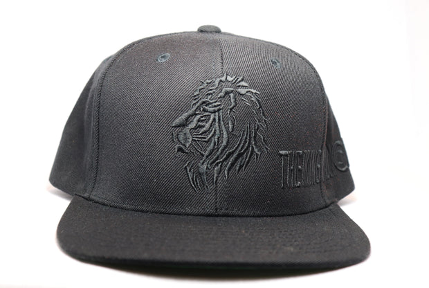 Black Bucaleany The King Has No Fear Black Snapback - BUCALEANY