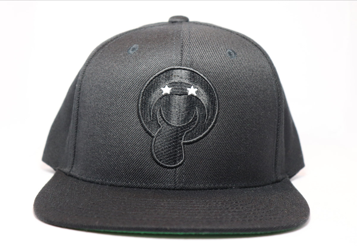 Black Bucaleany Tongue Black Snapback - BUCALEANY