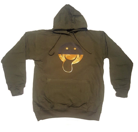"Bucaleany ""Tongueleany"" Olive Hoodie"