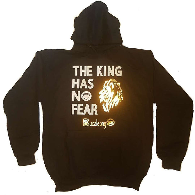 The King Has No Fear Hoodie ! - BUCALEANY