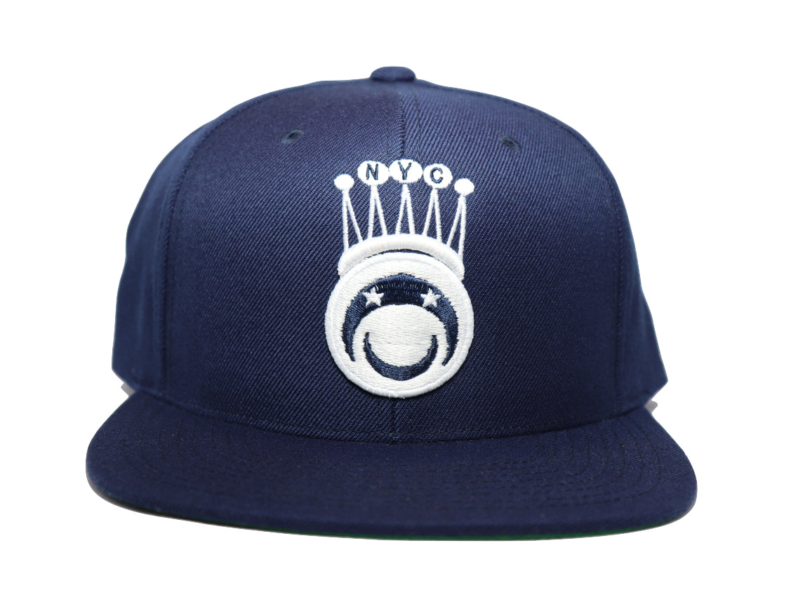 Bucaleany King Of NYC  Navy Snapback - BUCALEANY